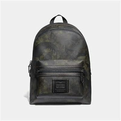 Fashion 4 Coach ACADEMY BACKPACK IN SIGNATURE CANVAS WITH WILD BEAST PRINT