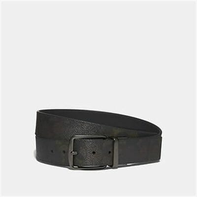 Fashion 4 Coach CUT-TO-SIZE REVERSIBLE BELT IN SIGNATURE CANVAS WITH WILD BEAST PRINT