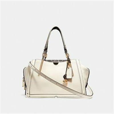 Fashion 4 Coach DREAMER WITH SNAKESKIN DETAIL