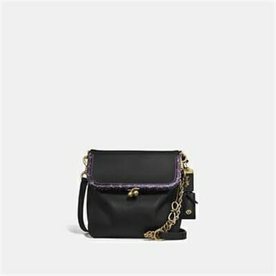 Fashion 4 Coach RIDER BAG 24 WITH SNAKESKIN DETAIL
