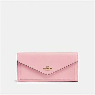 Fashion 4 Coach SOFT WALLET IN CROSSGRAIN LEATHER