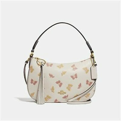 Fashion 4 Coach SUTTON CROSSBODY WITH BUTTERFLY PRINT