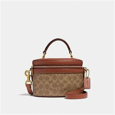 Fashion 4 Coach TRAIL BAG IN SIGNATURE CANVAS