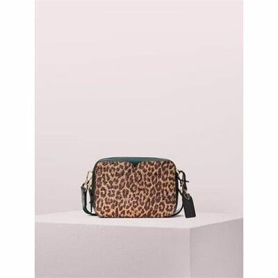 Fashion 4 - candid metallic leopard medium camera bag