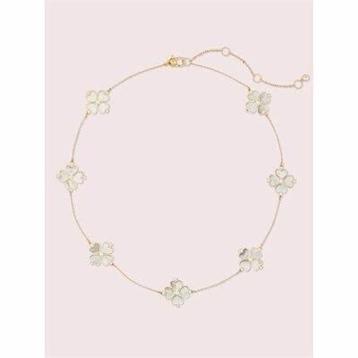 Fashion 4 - legacy logo spade flower necklace