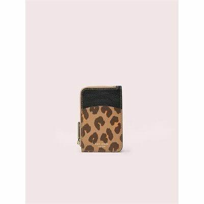 Fashion 4 - margaux leopard zip card holder