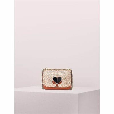 Fashion 4 - nicola metallic leopard twistlock small convertible chain shoulder bag