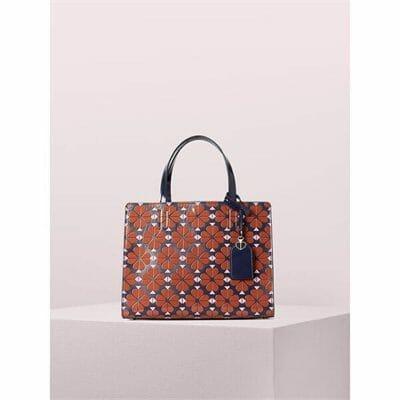 Fashion 4 - sam spade flower medium satchel