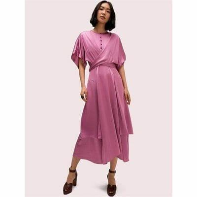 Fashion 4 - satin tie dress