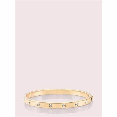 Fashion 4 - set in stone hinged bangle