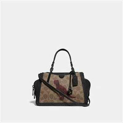 Fashion 4 Coach DREAMER 21 IN SIGNATURE CANVAS WITH REXY BY SUI JIANGUO