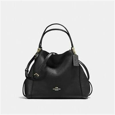 Fashion 4 Coach EDIE SHOULDER BAG 28 IN PEBBLE LEATHER