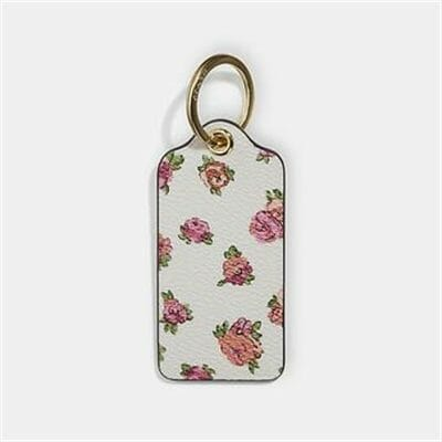 Fashion 4 Coach HANGTAG WITH FLORAL PRINT
