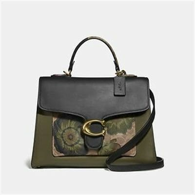 Fashion 4 Coach TABBY TOP HANDLE IN SIGNATURE CANVAS WITH KAFFE FASSETT PRINT