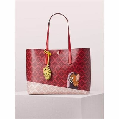 Fashion 4 - kate spade new york x tom & jerry large tote