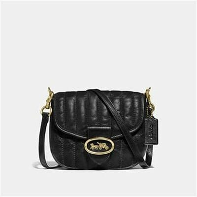 Fashion 4 Coach KAT SADDLE BAG 20 WITH QUILTING
