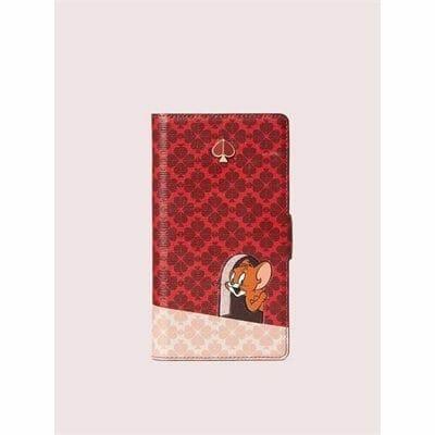 Fashion 4 - kate spade new york x tom & jerry iphone 11 pro magnetic wrap folio case