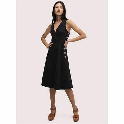 Fashion 4 - scallop jacquard midi dress
