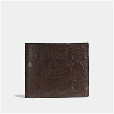 Fashion 4 Coach 3-IN-1 WALLET IN SIGNATURE LEATHER