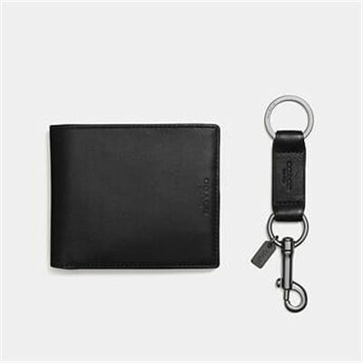 Fashion 4 Coach BOXED 3-IN-1 WALLET GIFT SET