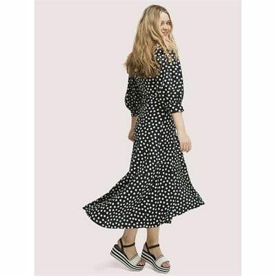 Fashion 4 - cloud dot wrap dress