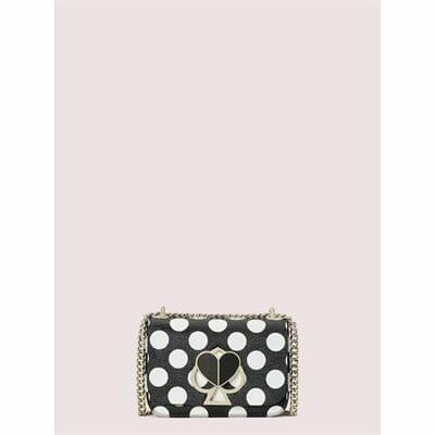 Fashion 4 - nicola embossed bikini dot twistlock small convertible chain shoulder bag