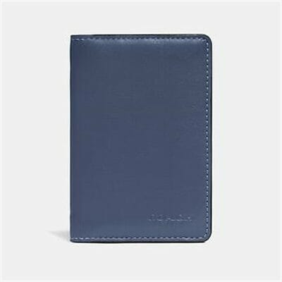 Fashion 4 Coach CARD WALLET IN COLORBLOCK WITH SIGNATURE CANVAS DETAIL