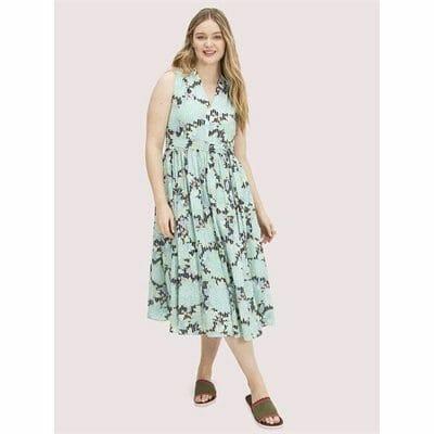 Fashion 4 - dahlia bloom burnout dress