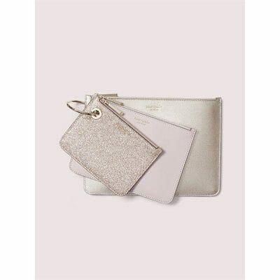 Fashion 4 - metallic pouch trio