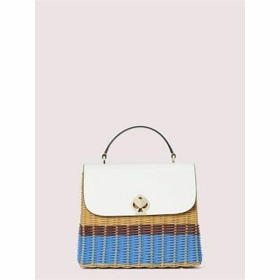 Fashion 4 - romy wicker medium top-handle bag