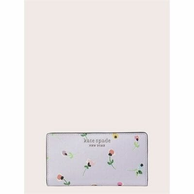 Fashion 4 - cameron floral ditsy large slim bifold wallet