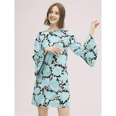 Fashion 4 - dahlia bloom dress