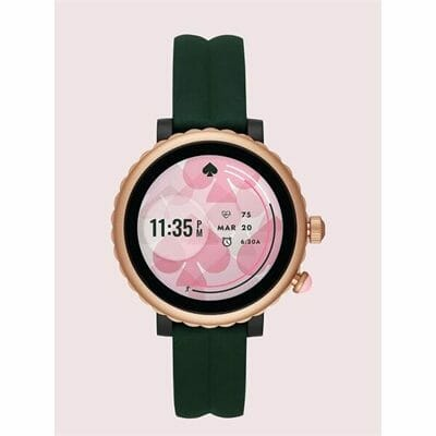 Fashion 4 - kate spade new york green silicone sport smartwatch featuring contactless payment