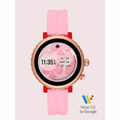 Fashion 4 - kate spade new york pink silicone sport smartwatch featuring contactless payment