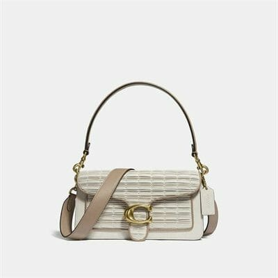 Fashion 4 Coach Pleated Leather Tabby Shoulder Bag 26