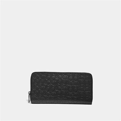 Fashion 4 Coach Travel Wallet In Signature Leather