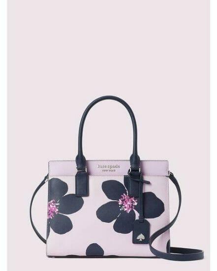 Fashion 4 - cameron grand flora medium satchel
