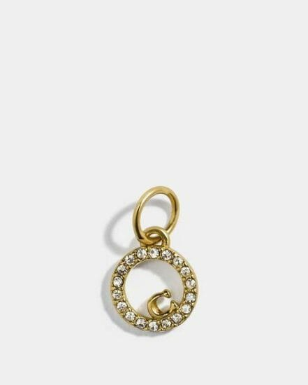 Fashion 4 Coach Collectible Eternity Circle Pave Charm