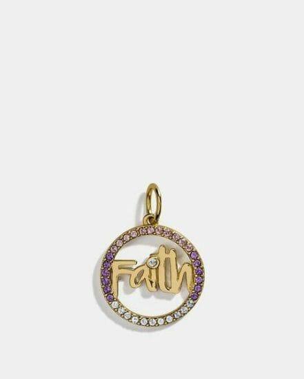 Fashion 4 Coach Collectible Faith Charm