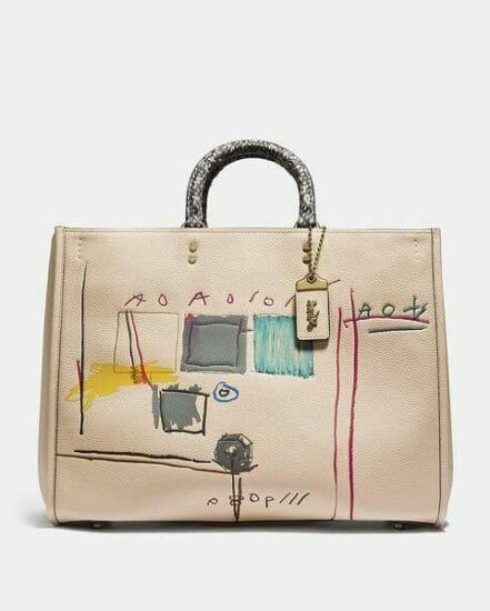 Fashion 4 Coach Coach X Basquiat Snake With Snake Handle Rogue Bag 39