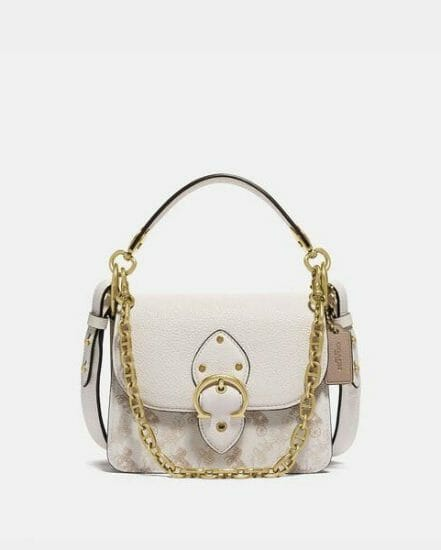 Fashion 4 Coach Beat Shoulder Bag 18 With Horse And Carriage Print