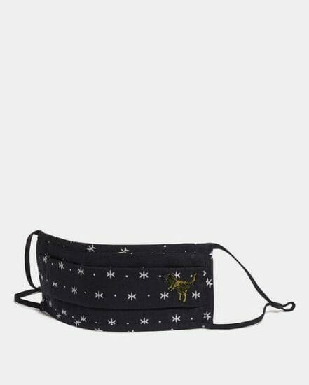 Fashion 4 Coach Rexy Face Mask With Star Dot Print