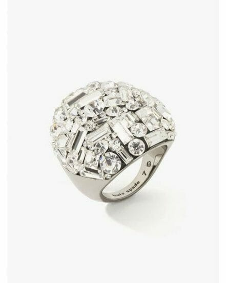 Fashion 4 - brilliant statements mixed baguette ring