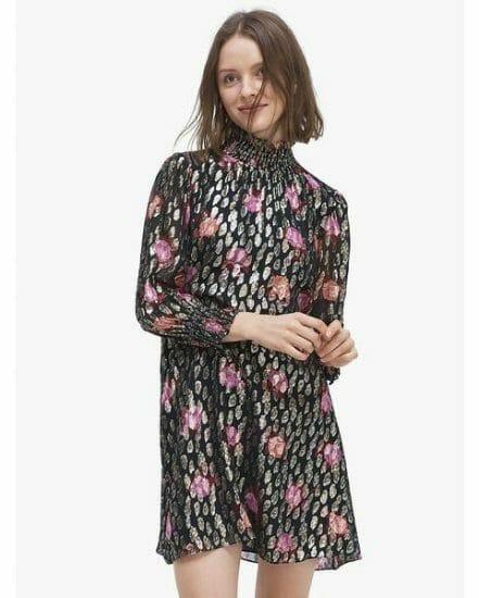Fashion 4 - rose garden smocked shift dress