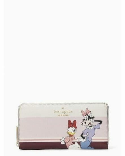 Fashion 4 - clarabelle & friends large continental wallet