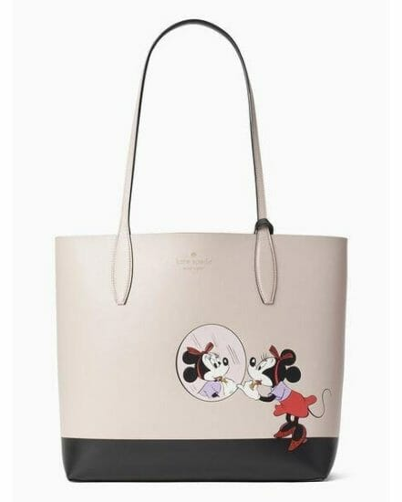 Fashion 4 - disney x kate spade new york minnie mouse large reversible tote