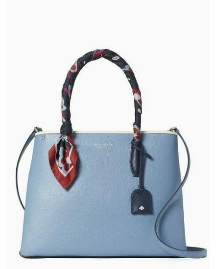 Fashion 4 - eva scarf handle medium top zip satchel