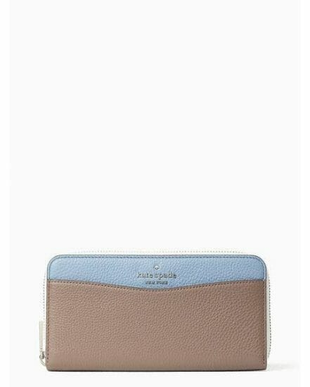 Fashion 4 - leila colorblock large continental wallet