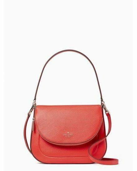 Fashion 4 - leila medium flap shoulder bag
