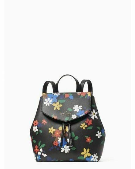 Fashion 4 - lizzie sailing floral medium flap backpack